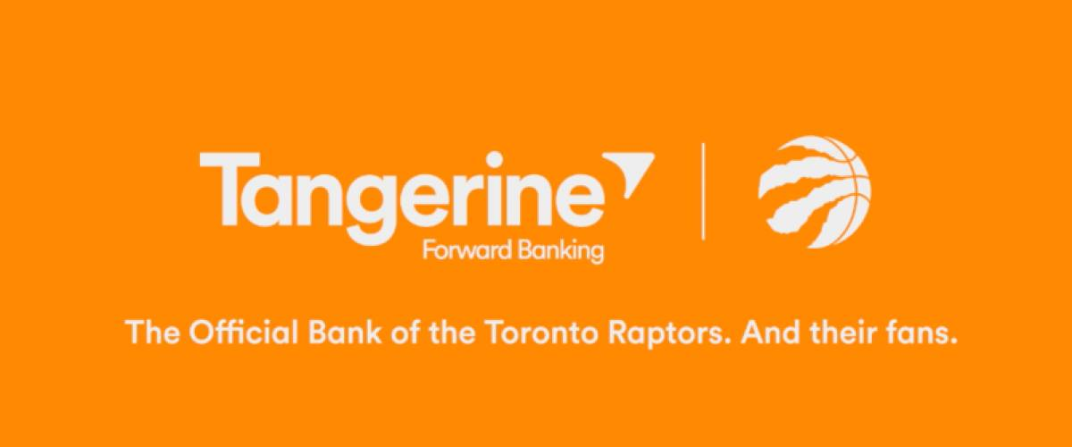 Tangerine and Raptors promo