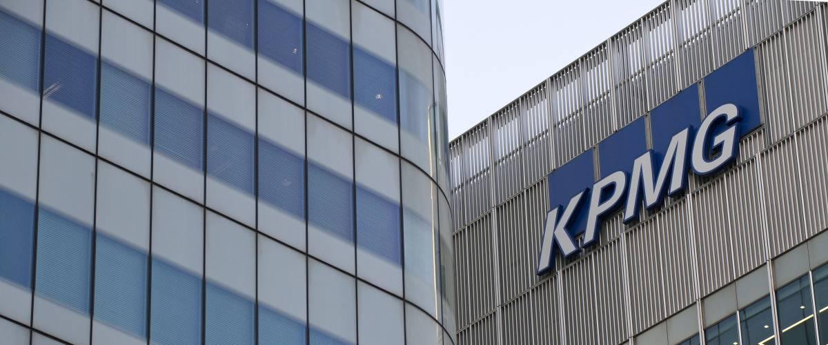 KPMG building at 15 Canada Square