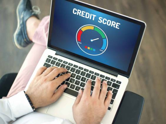 Check your credit score online.