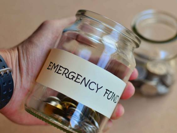 Emergency funds should be available for emergency use.