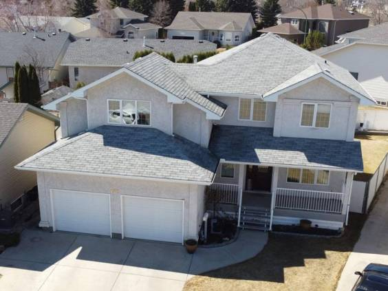 The exterior of a home in SASKATOON