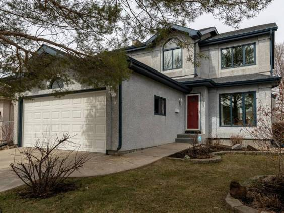 The exterior of a home in WINNIPEG