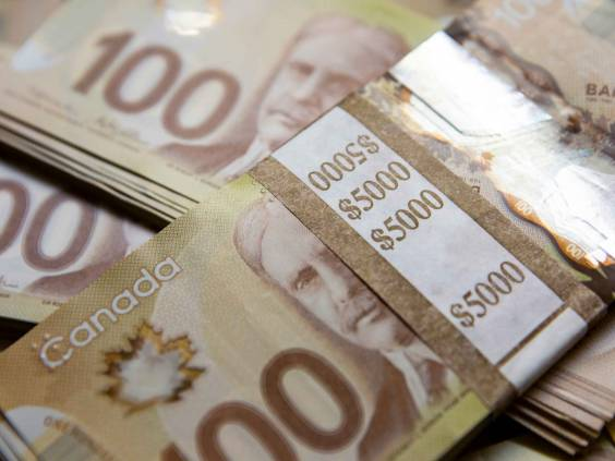 Canadian $100 Money