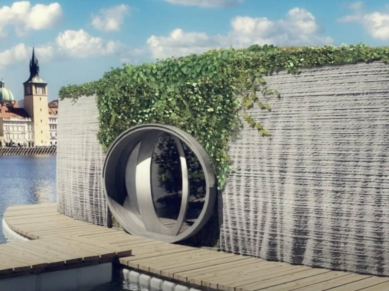 Prvok by Burinka 3D-printed house