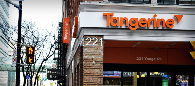 The Tangerine cafe in Toronto