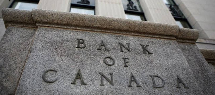 Bank of Canada building with Bank of Canada sign on stone